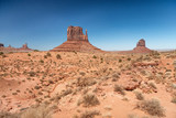 Amazing landscape of Monument Valley on a sunny summer afternoon - 248697431