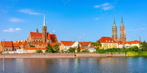 fototapeta na ścianę Wroclaw city, Poland