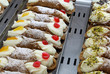 typical pastries of the Sicily in Southern Italy called SICILIAN