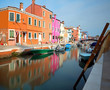 Burano is an island in northern Italy near Venice with its chara