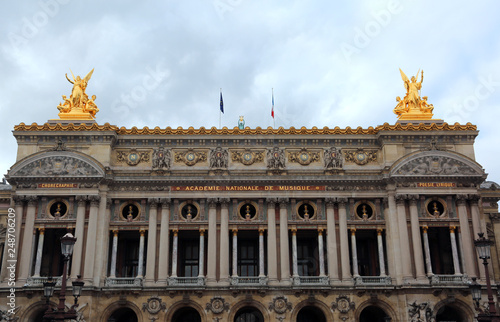 Palace of Opera in Paris France