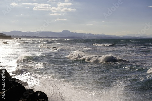 Les vagues au matin © Emmanuel