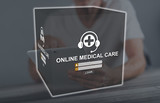 Concept of online medical care - 248709860