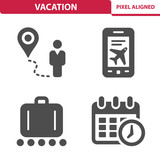 Vacation Icons - 248718072
