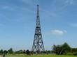 GLIWICE  DREWNIANY MASZT RADIOSTACJI  WOODEN MAST RADIO   GLIWICE SILESIA  POLAND