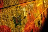 Colourful Graffiti Art on the backstreet walls in Granada,Andalucia,Spain. - 248756221
