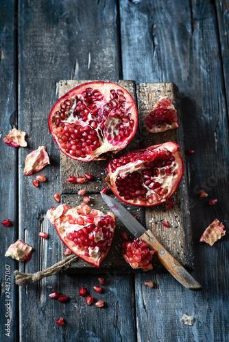 Foto Murales pomegranate
