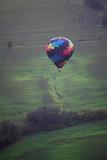 Hot air balloon over Iowa - 248776693