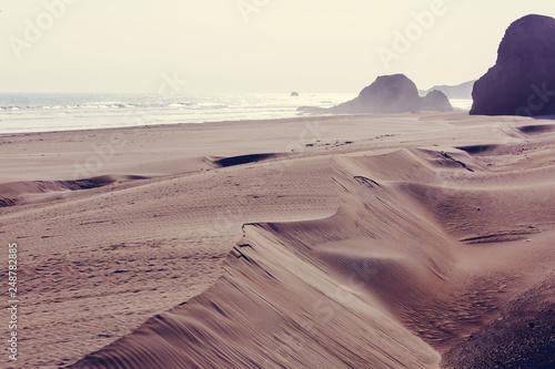 Leinwanddruck Bild Coast in Peru