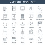 blank icons - 248806614
