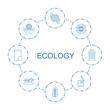 8 ecology icons