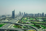 View towards downtown Dubai and the golfcourse - 248812803