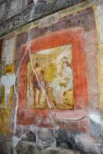 """Постер, картина, фотообои """"affresco pompeiano3"""""""