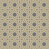 Seamless background for your designs. Modern vector ornament. Geometric abstract golden pattern - 248825239