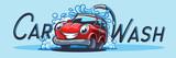 CAR WASH LOGO BANNER