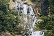 Waterfall in the middle of pure nature - 248886093