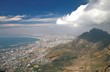 Table Mountain  is a landmark overlooking the city of Cape Town in South Africa - 248901285
