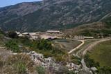 Laveria abbandonata di Genne Carru della miniera di Arenas