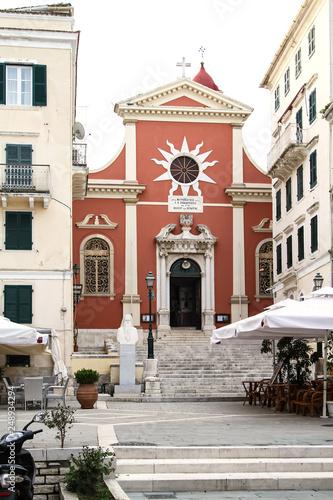 Church of St. Spyridon on the island of Corfu