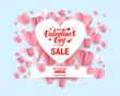 Heart frame sale card