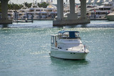 Medium sized boat in Miami