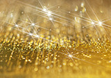 The abstract image of diamond shine on a golden background. - 249016099