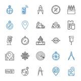 destination icons set - 249022258