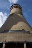 TINSLEY COOLING TOWERS DEMOLITION IN SHEFFIELD, YORKSHIRE, ENGLAND  - 249042096