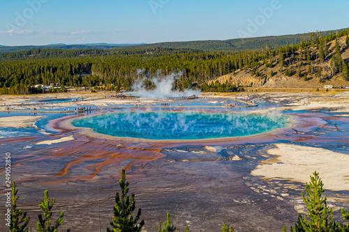 Foto Murales Yellowstone USA 3