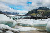 Melting ice in glacier lagoon in Iceland - 249072285