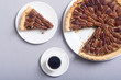 Leinwanddruck Bild - Autumn american pecan pie