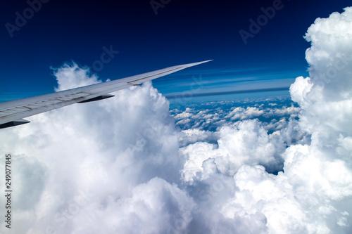 nuvole dall'aereo - 249077845