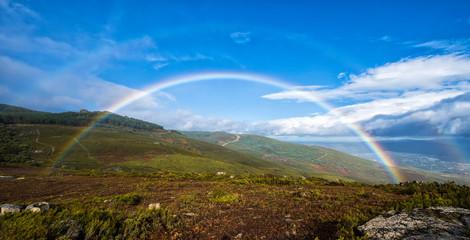 Rainbow in the mountains © Fernando