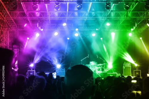 Foto Murales Rock concert