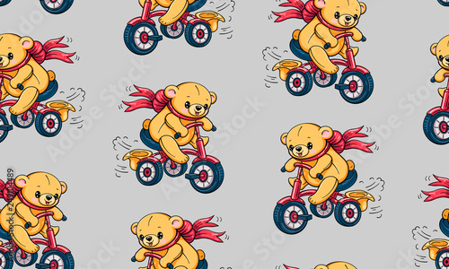 mata magnetyczna Cartoon bears