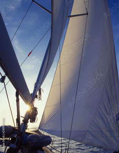 Sailboat, greece