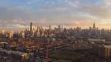 Winter hyperlapse of Chicago