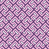 Seamless background for your designs. Modern vector pink and white ornament. Geometric abstract pattern - 249116277