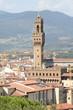 Quadro Vista Firenze con palazzo Vecchio