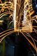 Leinwanddruck Bild - Industrial welding automotive in factory