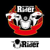 Rider Motorcycle Logo