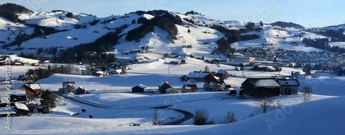 appenzell en hiver - 249157233