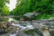 Summer afternoon at Blackstone Gorge