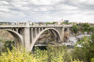 Bridge in Spokane © Vafa