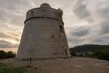 The tower of Sa Sal Rossa at dawn - 249250009