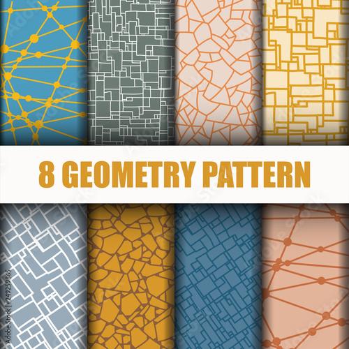 8 Set Geometry pattern