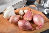 Shallots and garlic - 249262068