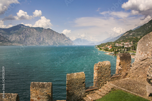 Beautiful scenery with sea and mountains - 249282809
