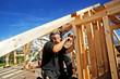 Leinwandbild Motiv carpenters at work xxl: bartussek.xmstore
