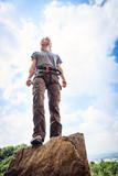 Young Climber Rock Climbing - 249316659